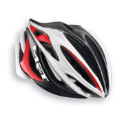 Met Stradivarius HES Helmet - White/Black/Red