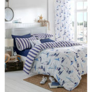 Catherine Lansfield Padstow Bedding Set - Nautical