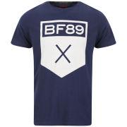 Boxfresh Men's Leoan Graphic Print T-Shirt - Navy