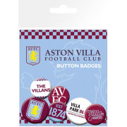 Aston Villa Crests and Slogans - Badge Pack