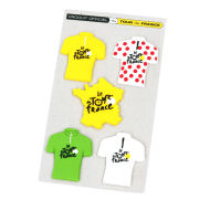 Tour De France Set of 4 Magnets