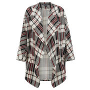 Girls On Film Women's Tartan Cape - Multi