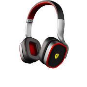 Ferrari Scuderia R200 Headphones Including Mic and In-line Remote - Silver