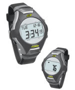 Skechers Wrist Band Watch & Heart Rate Monitor - Black