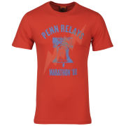 Nike Men's Run Nft Penn Relay T-Shirt - Red/Blue
