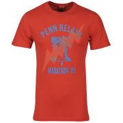 Nike Men's Run Nft Penn Relay T-Shirt - Red/Blue
