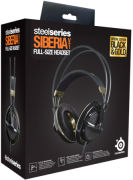 SteelSeries Siberia Full Size Headset - Black/Gold