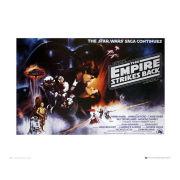 Star Wars Empire Strikes Back - 40 x 50cm Print