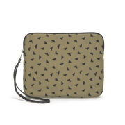 Kate Sheridan Women's iPad Clutch Bag - Stone/Black