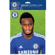 Chelsea Mikel Head Shot 14/15 - Bagged Photographic - 10x8