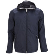 French Connection Men's Natchez Multi Zip Nylon Jacket - Darkest Blue
