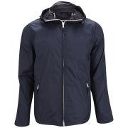 French Connection Men's Natchez Multi Zip Nylon Jacket - Darkest Blue