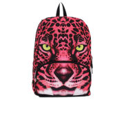 Mojo Hot Pink Leopard Backpack - Multi