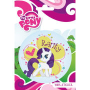 My Little Pony Rarity - Vinyl Sticker - 10 x 15cm