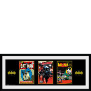 DC Comics Batman Comic 3 Comics - 30x75 Collector Prints