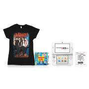 Nintendo 3DS XL Tomodachi Life + The Vamps T-Shirt Pack