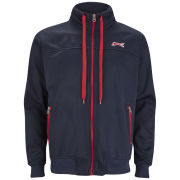 Slazenger Men's Gascoigne Track Top - Navy/Red