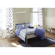 Scion Shibori Duvet Cover - Blue