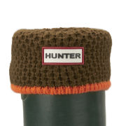 Hunter Women's Neon Trim Boot Socks - Neon Orange