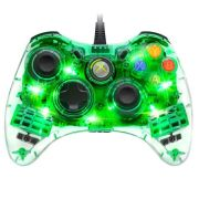 AfterGlow Wired Xbox 360 Controller - Green - Grade A Refurb