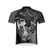 Primal Departed Short Sleeve Jersey - Black/White/Grey