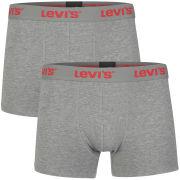Levi's Men's 2-Pack Boxers - Grey