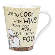 The Good Life Cook With Wine Flight Mug