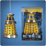 Doctor Who Yellow Dalek Drone 5 Inch Christmas Ornament