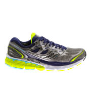 Saucony Women's Hurricane ISO Running Shoes - Grey/Yellow