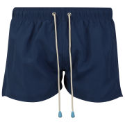 Oiler & Boiler Men's Shortie Swim Short - Navy
