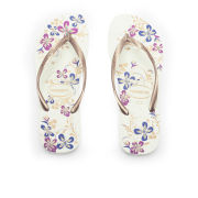 Havaianas Women's Slim Season Flip Flops - Rose/Gold