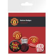 Manchester United Crests - Badge Pack