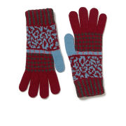 Paul Smith Accessories Women's Fairisle Gloves - Pink