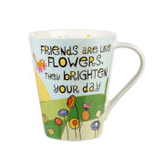The Good Life Brighten Your Day Flight Mug