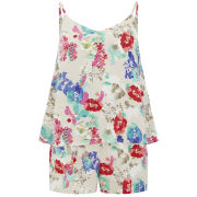 Vero Moda Women's Flower Joe Playsuit - Multi