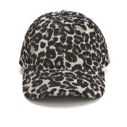 Maison Scotch Baseball Cap - Leopard