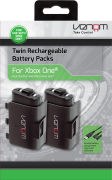 Xbox One Twin Rechargable Battery Pack & covers