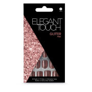 Elegant Touch Glitter Nails - Pink