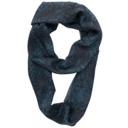Front Row Society Acid Dream Loop Scarf - Teal