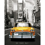 New York Taxi - Mini Poster - 40 x 50cm