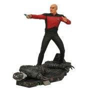 Star Trek Captain Jean Luc Picard & Borg Battle Scene Statue