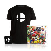 Super Smash Bros. for Nintendo 3DS Game Pack (T-Shirt Extra Large)