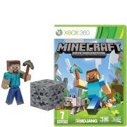 Minecraft Xbox 360 with Steve Model