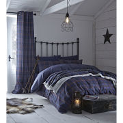 Catherine Lansfield Glencoe Bedding Set - Navy