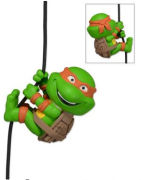 NECA Teenage Mutant Ninja Turtles Michelangelo 2 Inch Scaler Figure