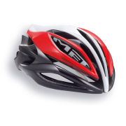Met Sine Thesis Ice Lite Helmet - Red/White/Black