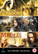 Fantasy Collection (Beowulf and Grendel / Merlin Book of Beasts / Robin Hood)