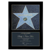 A 'Star is Born' Award Personalised Poster Gift Pack
