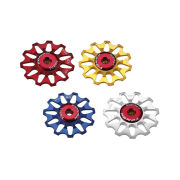 Token Alloy Campagnolo Bicycle Jockey Wheels