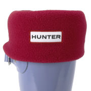 Hunter Women's Short Fleece Welly Socks - Red
